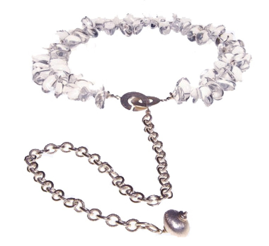 Rock Crystal Collar and Chain
