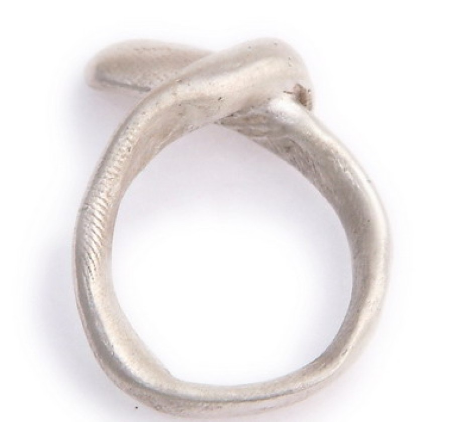 Sterling Ribbon Ring