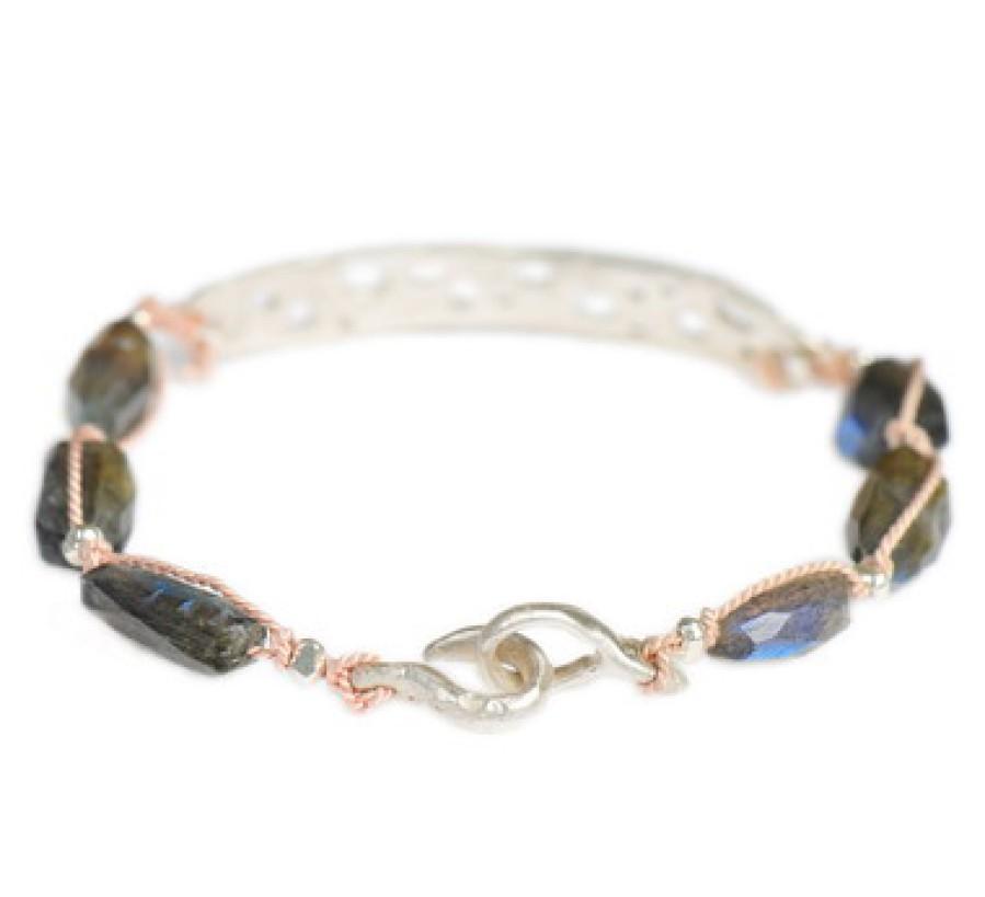 Moss Aquamarine Sterling Earrings