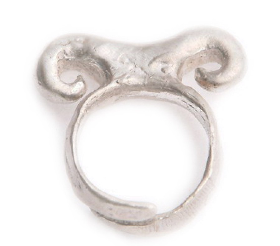 Sterling 3 Bump Ring